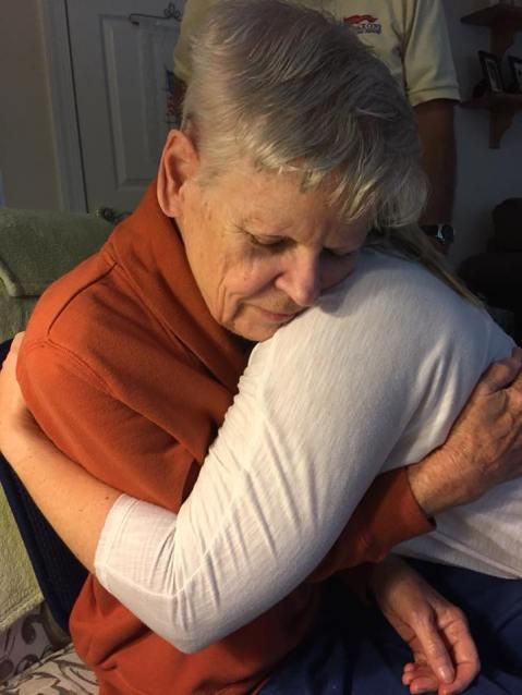 mama hugs