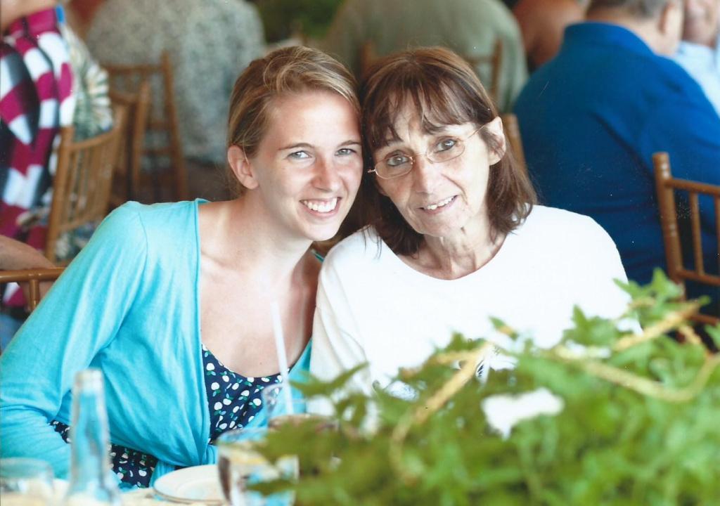 Jeannine and Mom July 2012
