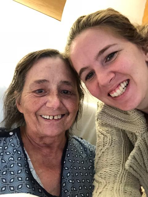 Jeannine and Mom November 2018