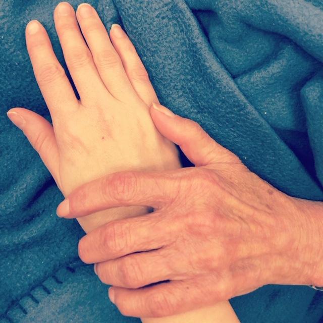 Jeannine hands