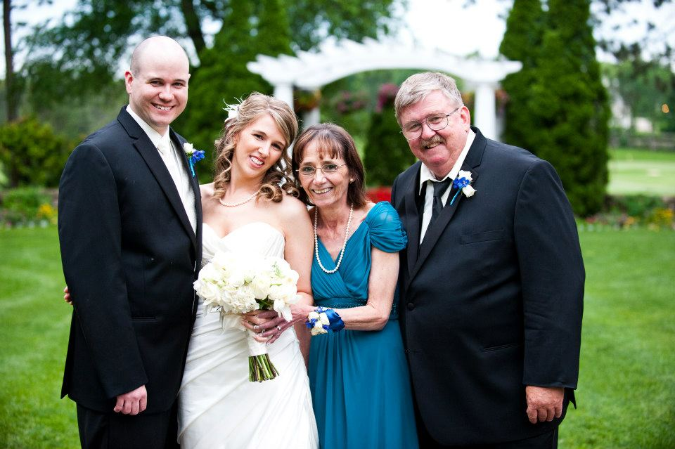 Jeannine's wedding